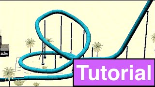 how to build a looping waterslide tutorial rct3   erik rct