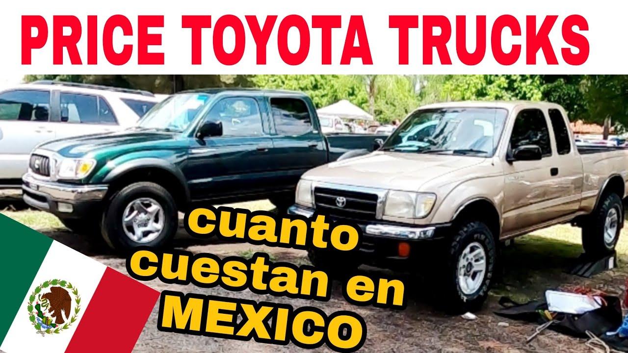 CAMIONETAS EN VENTA variedad TOYOTA TACOMA HILUX TUNDRA pickup trucks autos en venta mercado libre