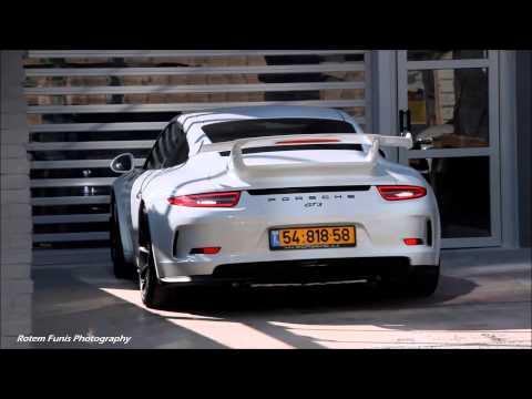 Porsche 991 GT3 in Israel