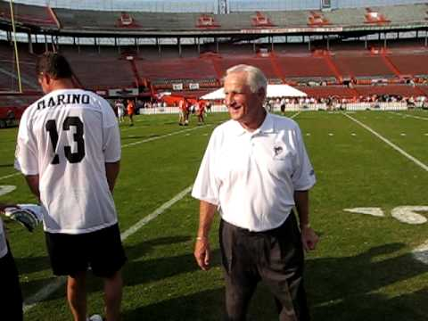 Don Shula Coaching Don Strock