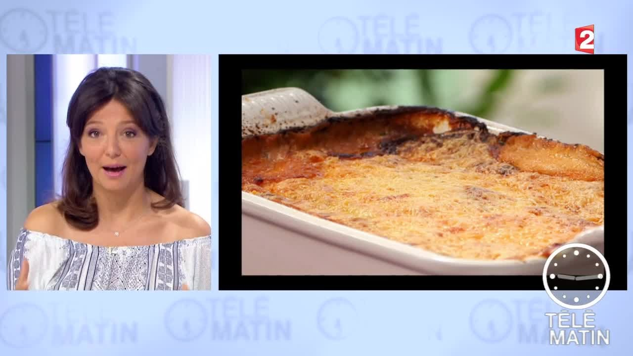Gourmand moussaka sans effort youtube for Tele matin cuisine
