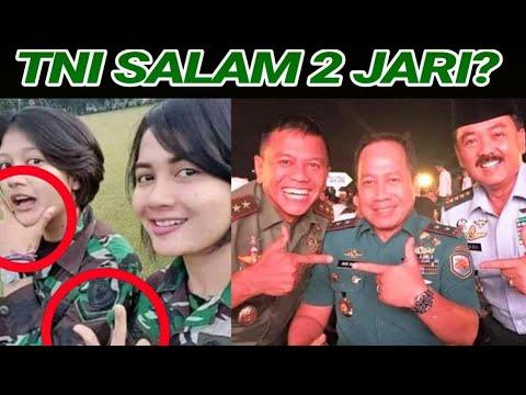 BEREDAR FOTO TNI SALAM 2 JARI;INI FAKTA SEBENARNYA;PRABOWO-SANDIAGA;PEMILU 2019;PILPRES 2019;
