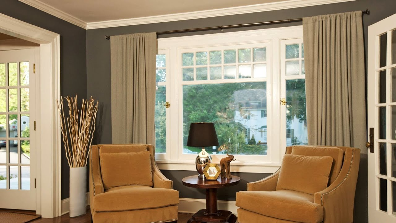 Window treatment do 39 s don 39 ts interior design youtube for Living room picture window ideas