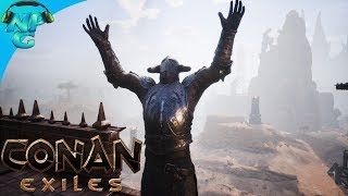 Conan Exiles Final Stream - Waging War on the Enemy Base with EVERY GOD AVATAR! Conan Raiding!