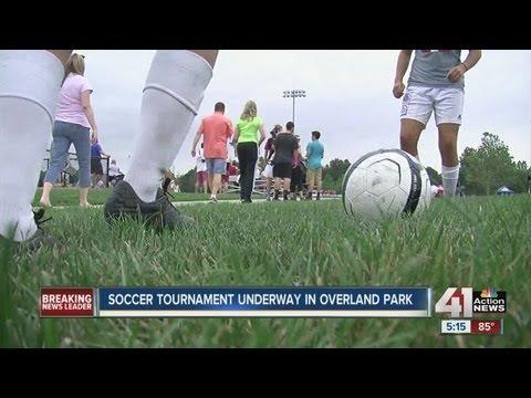 Soccer players take over Kansas City metro area for soccer tournament