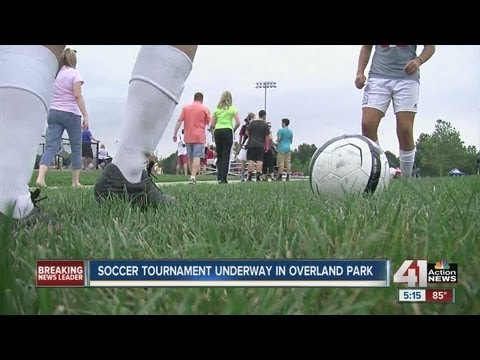 Soccer players take over Kansas City metro area for soccer tournament