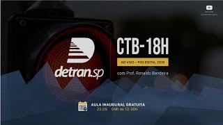 18horas de CTB DETRAN-SP: Prof. Ronaldo Bandeira