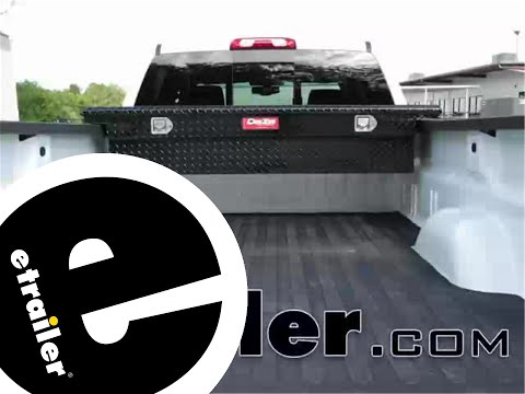 DeeZee Low-Profile Crossover Style Toolbox Review - 2015 GMC Sierra 3500 - etrailer.com