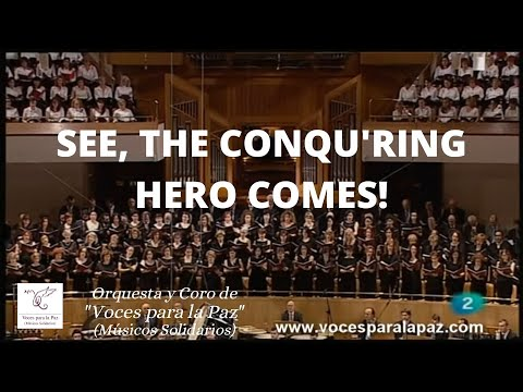 SEE, THE CONQU'RING HERO COMES!. Judas Macabeo. Director: Antonio Fauró