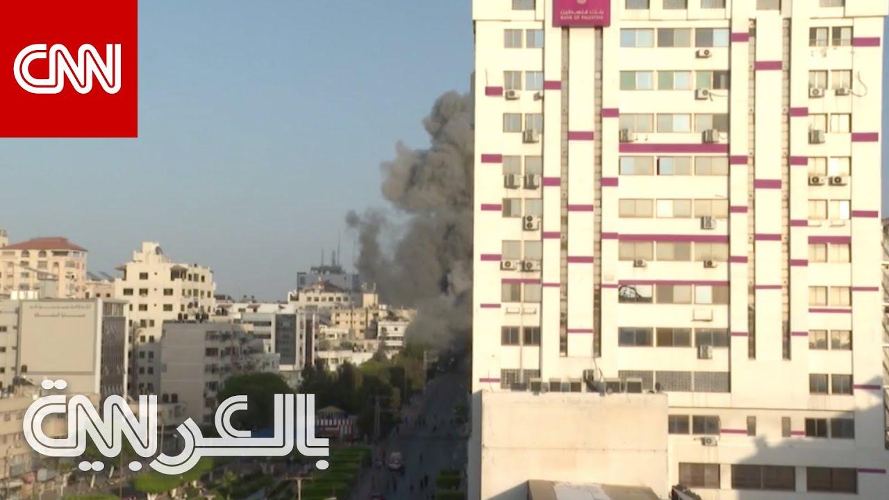 كاميرا CNN ترصد لحظة تدمير الجيش الإسرائيلي برج الشروق في غزة  - نشر قبل 2 ساعة