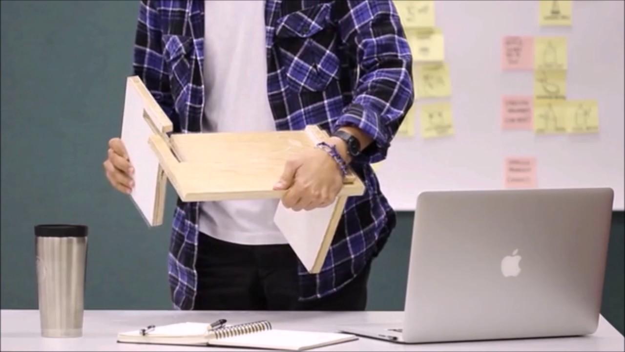 levit8 portable standing desk