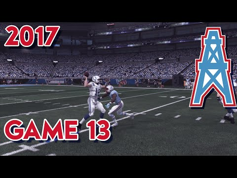 Madden 15 Franchise Mode - Houston Oilers | Season 4, Game 13 vs Colts