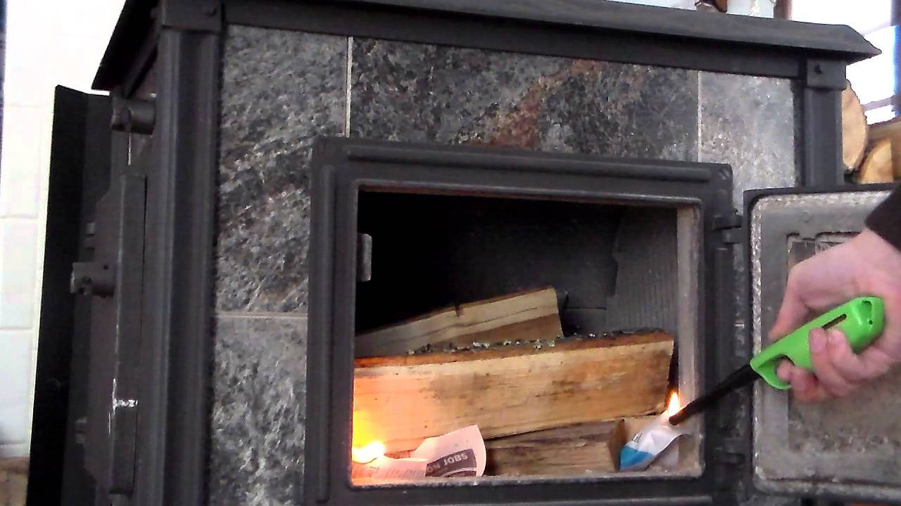 how to starting a fire in a soapstone woodstove youtube