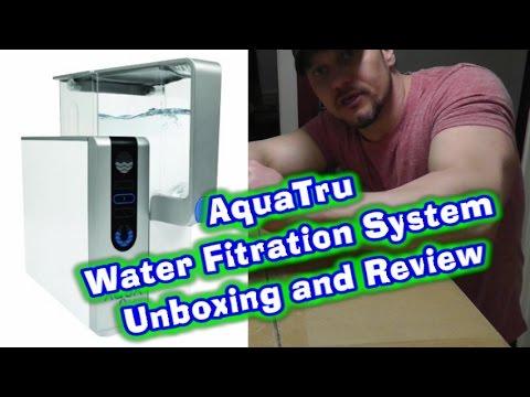 aquatru (review & unboxing) most advanced water filtration system ...
