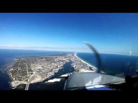 Local flight with Tim and Paris (Eglin AFB, FL)