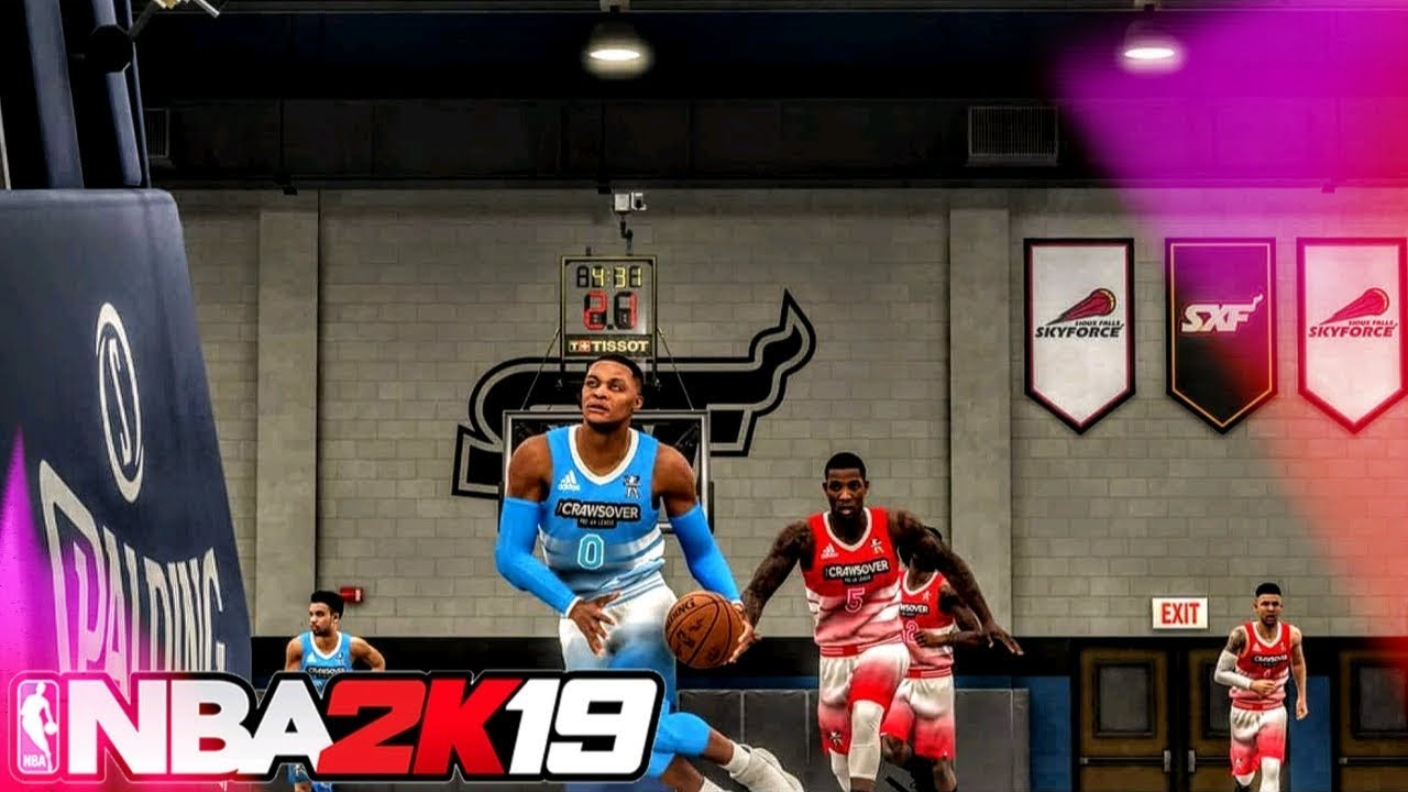 NBA 2K19 - BRAND NEW PS4 & Xbox One REAL HIGH SCHOOL GYM MOD! How To Use  This LOCKED Court!
