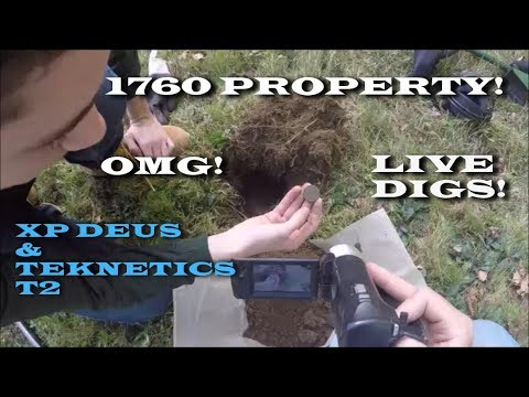 XP DEUS V4! LIVE ACTION! METAL DETECTING TREASURE!