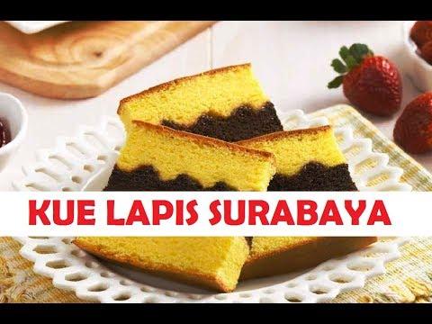 Cara Membuat Kue Lapis Surabaya Asli