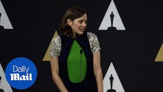 Marion Cotillard talks about her second Oscar nomination - Daily Mail