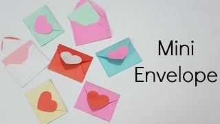 Mini Envelopes for Scrapbook/Mini Envelopes for Explosion box/How to Make mini Envelope/Miniature