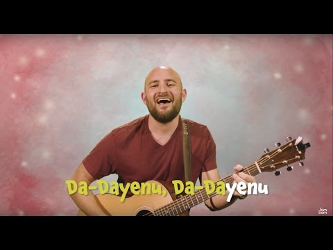 Dayenu: Learn the words to the Passover Seder song