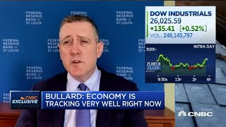 St. Louis Fed President on U.S. economic recovery amid rising Covid-19 cases