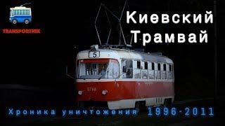 Киевский трамвай. Хроника уничтожения: 1996-2011.