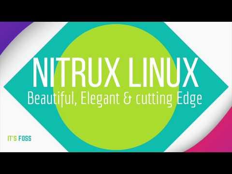 Nitrux Linux: Most Beautiful Linux Distribution?