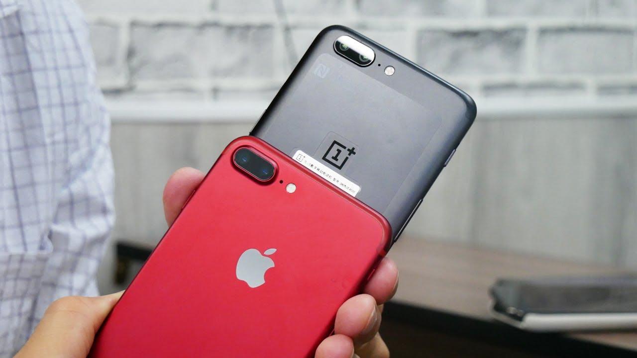 Обзор и сравнение | смартфон OnePlus 5