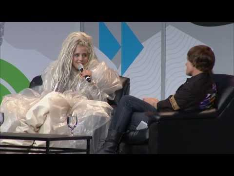 Lady Gaga - Interview at SXSW (03/14/2014) [Part 2]