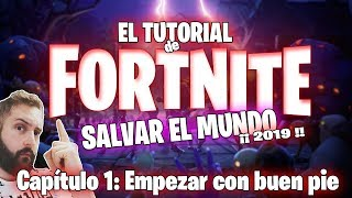 Fortnite Tutorial Save the World 2019 1st How to play fortnite alone save the world