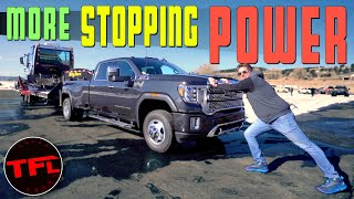 Here's How GM's eBoost Trailer Brake System Stops A Fully-Loaded Truck Faster And Safer!