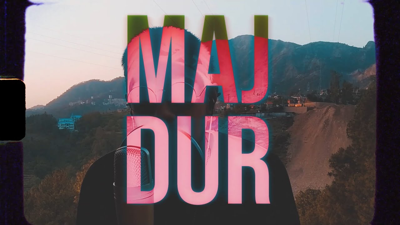 RAP ID - Majdoor | Prod. by KATTO | A Visual By VIKKALP