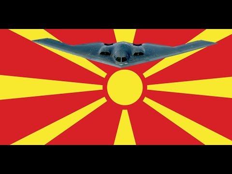 Amerikanische Bomben fallen wieder auf den Balkan! - NATO Manöver in Mazedonien