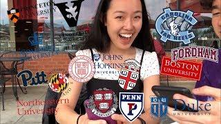 College Decision Reactions!! (15 Schools: Ivies + Hopkins + Vanderbilt + Duke + BU, etc)