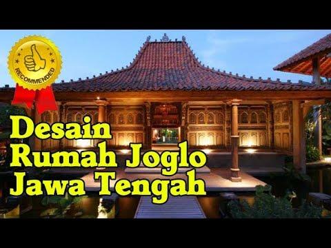 Desain Rumah Adat Joglo Tradisional Jawa Tengah Sederhana