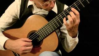 """Cancion de Cuna -Berceuse"" (Leo Brouwer) played by Ronny Wiesauer"