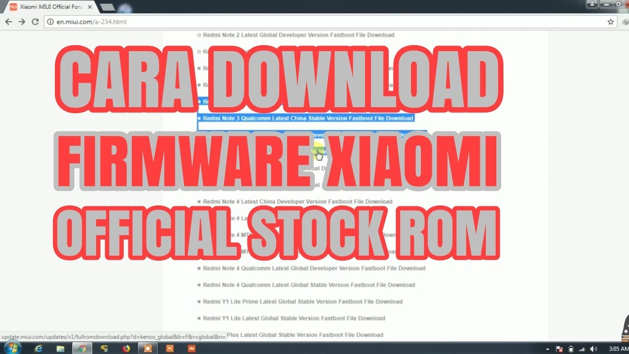 firmware xiaomi - PageBD Com