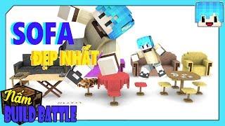 GHÊ SOFA NÀO ĐEP NHẤT ?  # Tập 73 ( Minecraft Build Battle )