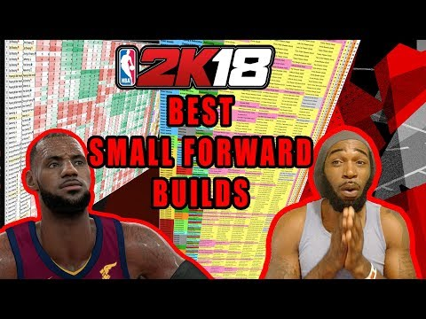 NBA 2K18 BEST DUO ARCHETYPES #3 - SMALL FORWARDS