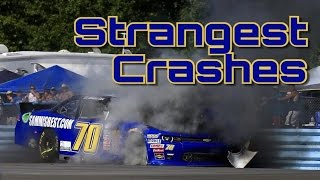 NASCAR Strangest Crashes and Incidents
