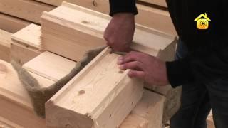 видео Строительство дома из профилированного бруса своими руками - этапы и фото