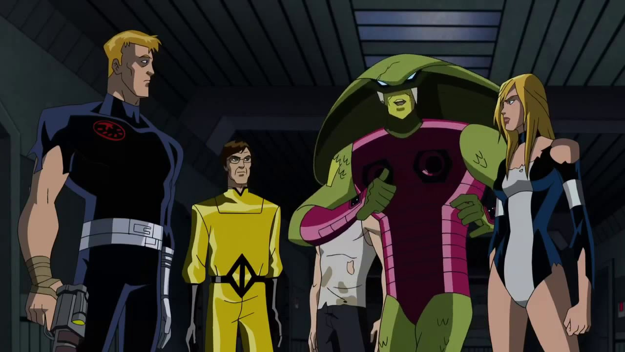 Captain America Frees The Skrull Prisoners Youtube