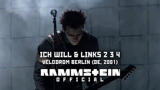 Rammstein - Ich Will & Links 2 3 4 (Velodrom Berlin 2001)
