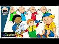 Caillou in english new episode HD of toysurprise ENG. Learning full patterns with