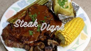 Steak Diane Video Recipe Cheekyricho