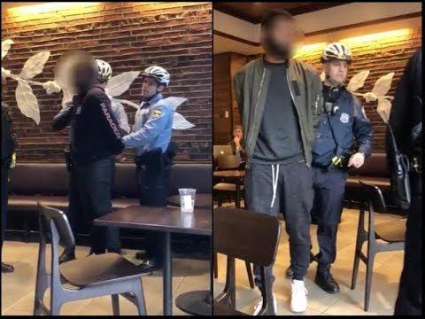 FULL VIDEO Of 2 Black Guys Being Arrested At Starbucks In Philadelphia LEAKED!!
