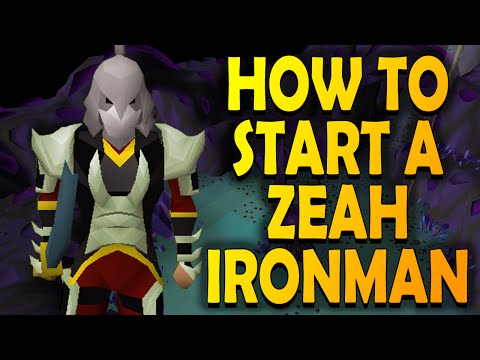 How to Start a Zeah Ironman - Tips and Tricks - Old School RuneScape OSRS