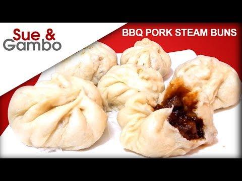 Chinese Steam BBQ Pork Buns - Char Siu Bao recipe