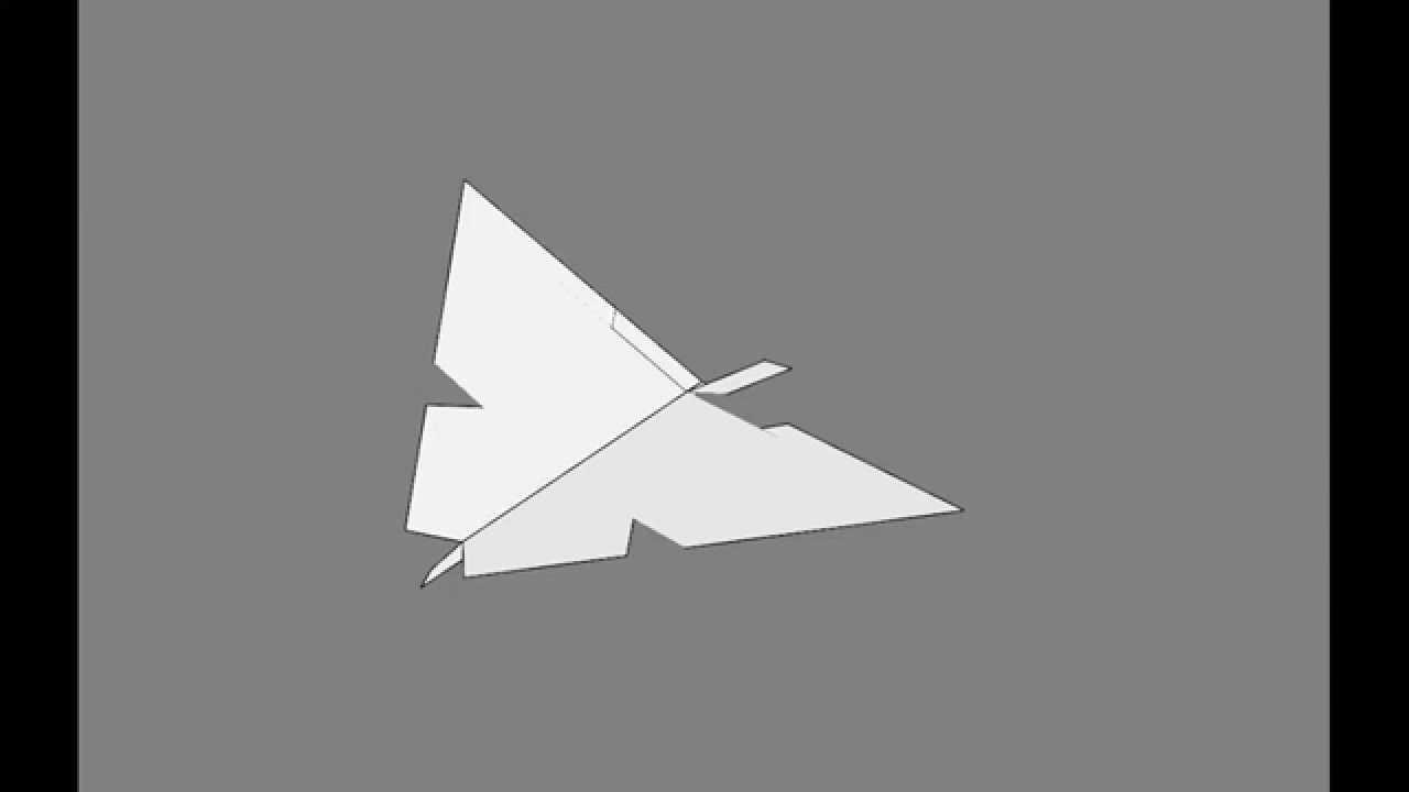 летающие оригами из бумаги для начинающих фото схема